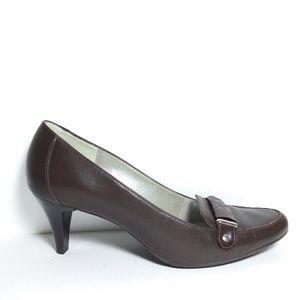 Talbots Brown Heels Size 7.5B